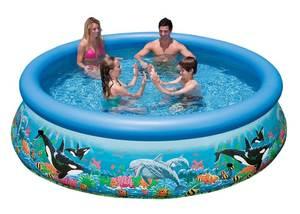 Бассейн надувной Intex Ocean Reef Easy Set Pool - 28124.54900 305x76 см