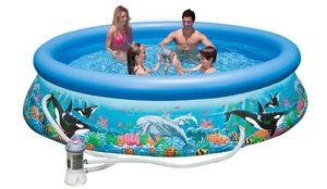 Бассейн надувной Intex Ocean Reef Easy Set Pool - 28126.54902 305x76 см