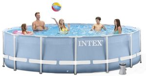 Бассейн каркасный Intex Prism Frame Pool - 26736.28736 457х122 см