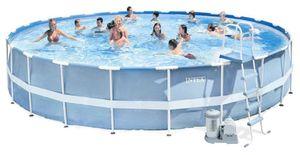 Бассейн каркасный Intex Prism Frame Pool - 26762.28762 732х132 см