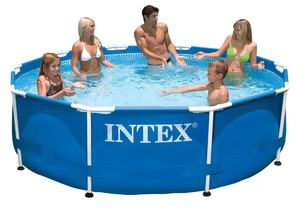 Бассейн каркасный Intex Metal Frame Pool - 28200 305х76 см