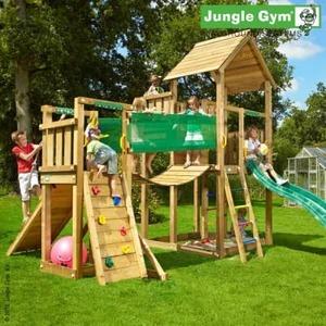 Детский городок JUNGLE GYM PALACE+ BRIDGE MODULE