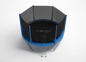 Батут OPTIFIT JUMP 14ft 4,27 м (с защитной сетью и лестницей)