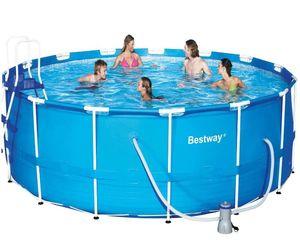 Бассейн каркасный BestWay Steel Pro Frame Pool - 56438.56100 457х122 см
