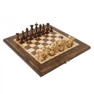 Шахматы + Нарды резные 40, Haleyan