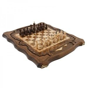 Шахматы + Нарды резные c Араратом 40, Haleyan