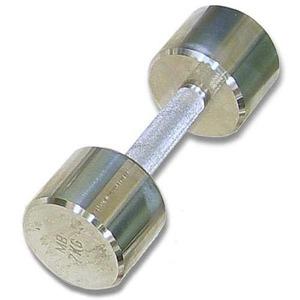 Гантель хромированная для фитнеса 10 кг MB-FitM-10