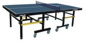 Профессиональный теннисный стол STIGA PREMIUM ROLLER синий/зеленый