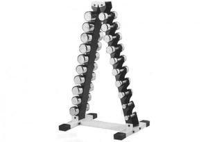Гантельный ряд парный хромированный от 1-10 кг REGAL IFD-12