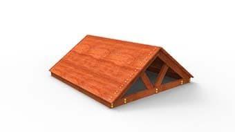 Деревянная крыша САМСОН для детской игровой площадки