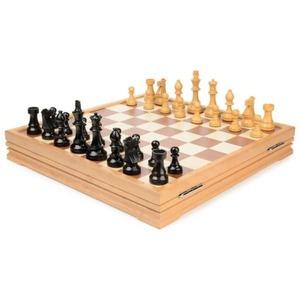 Шахматы классические деревянные 43х43 см
