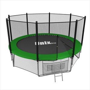 Батут UNIX LINE 14 ft OUTSIDE (Green)