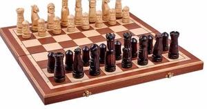 """Шахматы Большой Замок"""" средние 58х29х7 см"""""""