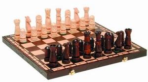 """Шахматы Большой Замок"""" малые 50х25х7 см"""""""