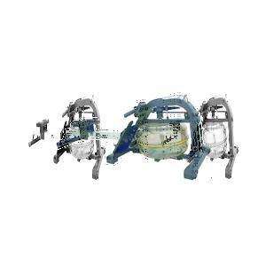 Водный гребной тренажер Water rowing Altezani