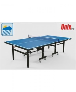 Всепогодный теннисный стол UnixLine Blue