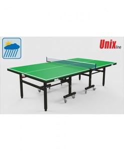Всепогодный теннисный стол UnixLine Green