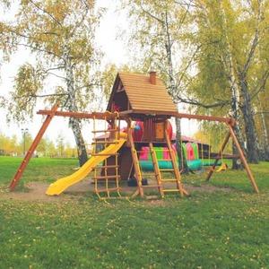 Детский городок NEW SUNRISE ЗАРНИЦА И РУКОХОД